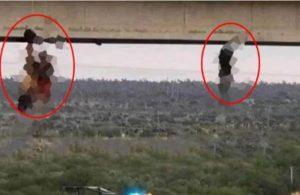 İnsanları öldürüp çıplak şekilde köprüye astılar