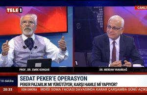 Emre Kongar: Türkiye'nin kaynaklarını böyle tükettiler