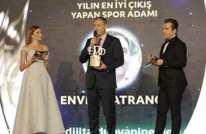 Yılın Spor Adamı Ödülü Enver Katrancı'nın