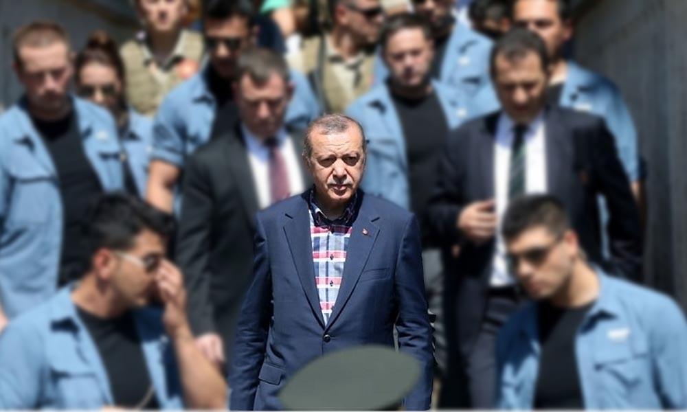 Erdoğan'ın koruma ordusuna servet ödendi
