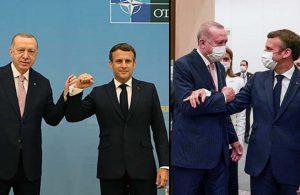 Erdoğan ile görüşen Macron'dan açıklama