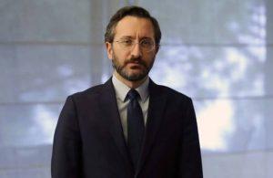Fahrettin Altun 'hınzır' sözüne 15 bin lira istedi