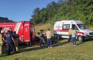 Sultangazi Kent Ormanı'ndaki gölete giren 15 yaşındaki çocuk boğuldu