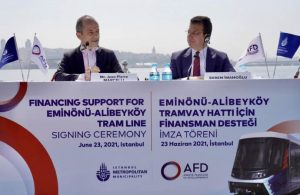 İBB, AFD ile 93 milyon euroluk kredi için anlaştı