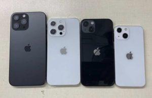iPhone 13'ün tasarımı netleşti