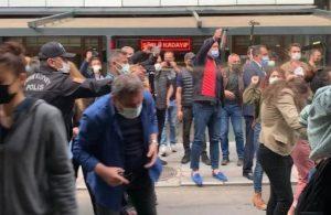 Ankara'da 'İstanbul Sözleşmesi' açıklamasına polis müdahalesi