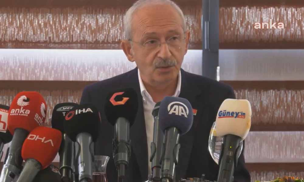 Kılıçdaroğlu: Kimse ihaleye girmesin, parasını vermeyeceğiz