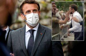 Macron'dan 'tokat' açıklaması: Aptallık