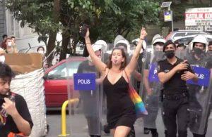 Madonna, İstanbul'daki Onur Yürüyüşü'nü paylaştı polisleri sordu