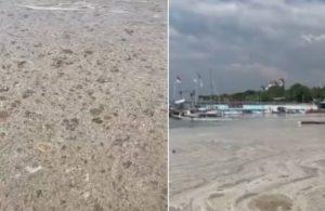 Bostancı-Kadıköy sahilinin içler acısı hali