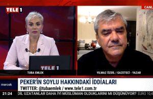Yılmaz Özdil: Bugün Sedat Peker'e küfür eden Soylu, yarın…