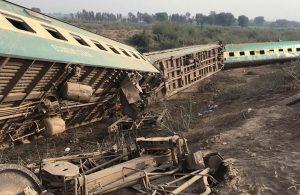 Pakistan'da tren kazası: Çok sayıda ölü ve yaralı var