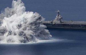 ABD donanmasındaki deneme 3,9 büyüklüğünde depreme neden oldu