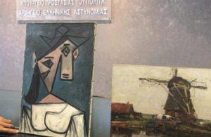 Picasso tablosunu çalan hırsız pişman oldu