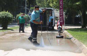 Pınarbaşı'nda sanat temizliği