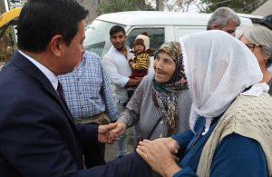 Yaşlılara Saygı Projesi ile Bodrum'un çınarları ziyaret ediliyor