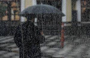 Meteoroloji sağanak uyarısını güncelledi