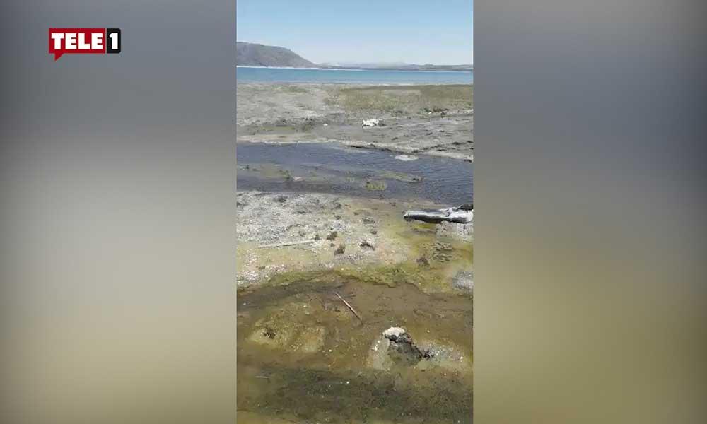 Kanalizasyon suyu Salda Gölü'ne akmaya devam ediyor!