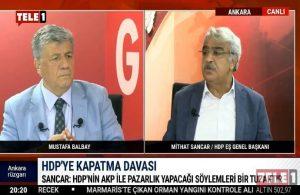 Mithat Sancar: 7 Haziran-1 Kasım arasından daha öte bir kaos planı var