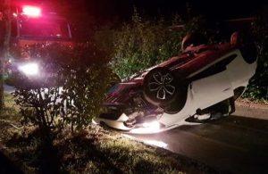 Alkollü sürücünün feci kazası