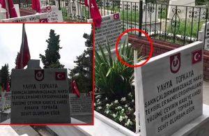 Şehitlikteki Türk bayrağı ve direği çalan hırsızlar yakalandı