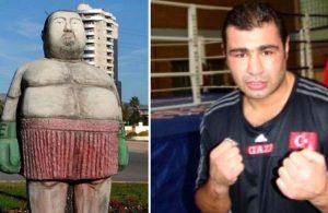 Sinan Şamil Sam heykeli tepki çekti!