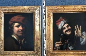 Çöpten paha biçilemeyen iki tablo çıktı