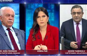Perinçek 'Öcalan'ın avukatlığını yaptı' dedi, CHP'li Tanrıkulu yayına bağlandı: Perinçek'in avukatlığını yaptım