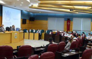 Muhtarlara ve imamlara sosyal uyum faaliyetleri konulu bilgilendirme toplantısı yapıldı