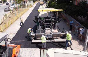 Tarsus Belediyesi asfalt çalışmalarına aralıksız devam ediyor