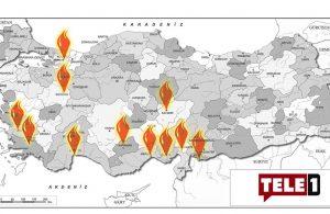 Türkiye alevlere teslim! 7 ilde 21 yangın sürüyor!
