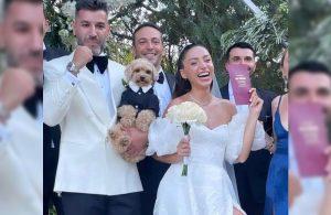 Zeynep Bastık'ın düğünü sosyal medyaya damga vurdu