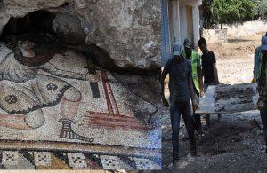 Bizans mozaikleri müzeye taşındı
