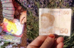 Tarlaya 50 lira bırakan vatandaş: Toprağın Melekleri'ne dondurma ısmarlamak istedim