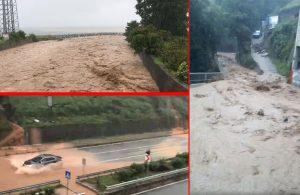 Dereler taştı, evleri su bastı, yollar kapandı