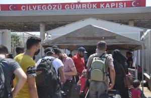 Bayramlaşmak için 44 bin 220 Suriyeli ülkelerine gitti