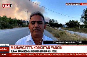 CHP'li Budak TELE1'e konuştu: Beyaz bir araçla iki kişinin gözaltına alındığını duyduk