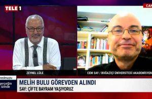 Prof. Dr. Cem Say: Melih Bulu artık sadece mezunlar derneğine girebilir