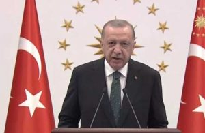 Erdoğan: Yangının en kısa zamanda söndürülmesi tek temennimdir