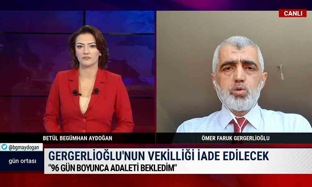 Ömer Faruk Gergerlioğlu: 96 gün boyunca adaleti bekledim