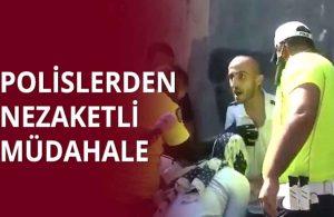 Polisin silahını alan saldırgandan muhabire: Yayınlarsan öldürürüm