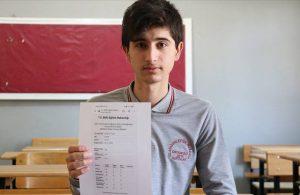 İç savaş nedeniyle Türkiye'ye geldi, LGS'de 500 tam puan aldı