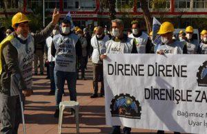 Haklarını arayan madenciler: Ölmek var dönmek yok!