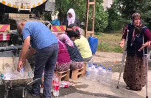 Trabzon'da su sıkıntısı: 'Adı Subaşı olan mahallede su yok'