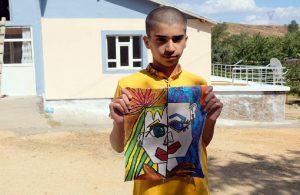 Bingöllü Ali, köyün Picasso'su olarak anılıyor