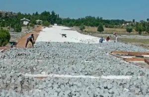 Salda Gölü için taş kaplama ve taş döşeme ihalesi!
