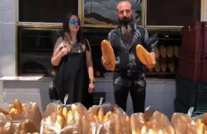 """Normalleşme sonrası esnaftan """"Kimse ekmeğe muhtaç olmasın"""" kampanyası"""