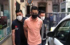 Türk Lirası'yla burnunu silen turist gözaltına alındı
