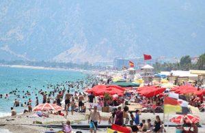 Antalya'daki turist sayısı 3 milyonu geçti