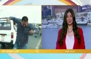 Canlı yayındaki muhabire motorsiklet çarptı